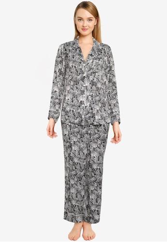 Banana Republic multi Satin Pyjama Set 2F487AA86563FAGS_1