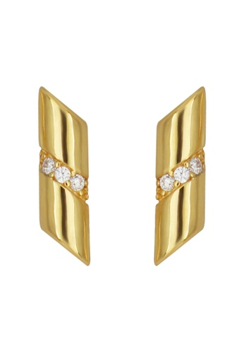 GEMLINE JEWELRY gold Riannon Earrings 85E30ACD87AD72GS_1