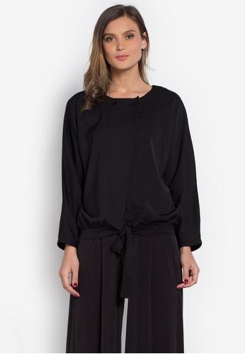 Verve Street black Alora Dress VE915AA0K5SEPH_1