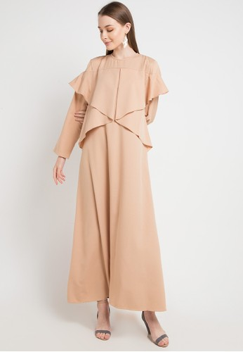 Covering Story brown Zianna Dress-G 15B10AAC9529DEGS_1