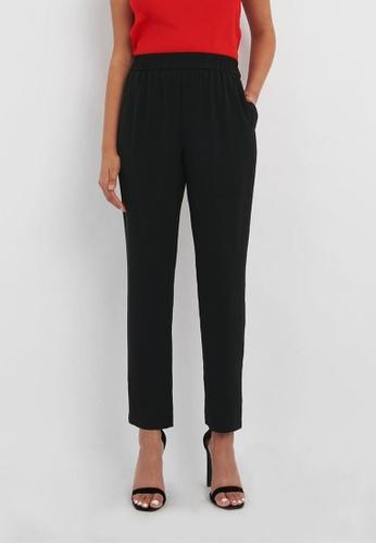 FORCAST black FORCAST Brea Elasticated Trousers 47F58AA18CB7D2GS_1