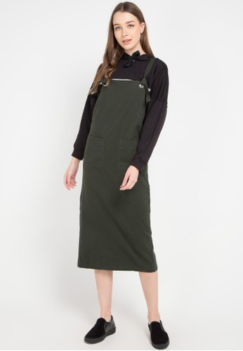 Ninety Degrees green Filbert Dress 01145AA4D4FA9DGS_1