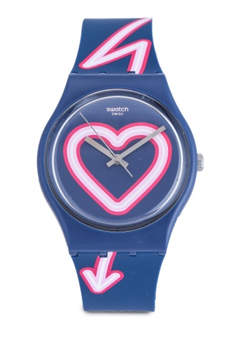 Swatch blue Flash Of Love Watch 5B125AC11A1BE8GS_1