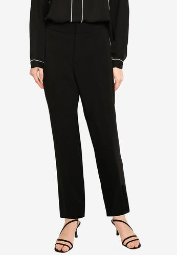 Banana Republic black Slim Flare Structured Twill Pants 6BB7BAA6D0B7F8GS_1
