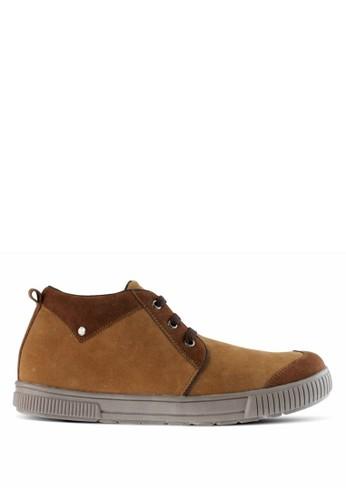 Sogno brown Sepatu Boot Pria GF.8601 64CC2SHC51606AGS_1
