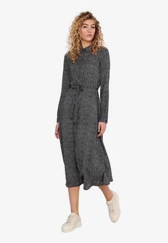 ONLY black Ester Shirt Dress D1128AA181B035GS_1