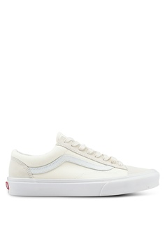 9a96870107bf VANS white Style 36 Vintage Sport Sneakers 415D5SH3841648GS 1