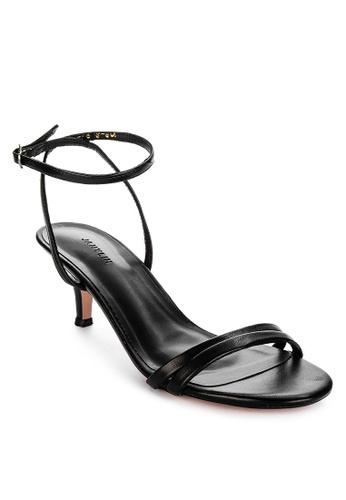 Janylin black Ankle Strap Heeled Sandals 0FCC8SHE4C7319GS_1