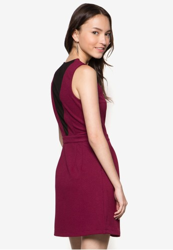 背部薄紗束esprit tw腰洋裝, 服飾, 服飾