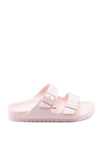 Birkenstock 粉紅色 Arizona EVA Sandals 04383SH9EF6AE7GS_1