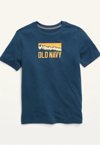Old Navy blue Boys Short-Sleeve Logo-Graphic Tee 367A0KA51F3E94GS_1