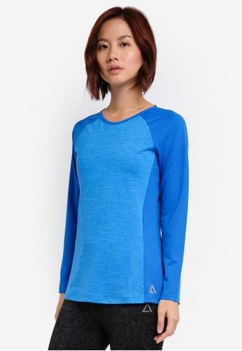 AVIVA blue Long Sleeve Shirt 4AEC4AAF9A430FGS_1
