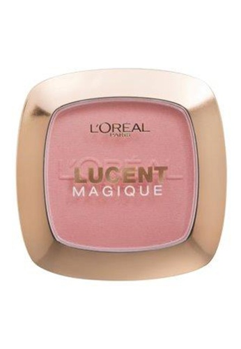 L'Oréal Paris pink Lucent Magique Mono Blush P7 Rose Romance LO674BE56JNZPH_1