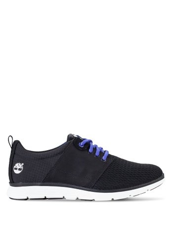 Timberland black and blue Killington Leather And Fabric Oxford Shoes TI063SH15NDWMY_1