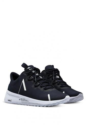 ARKK Copenhagen blue Axionn Mesh Pwr55 Male Sneakers FE882SHB830986GS_1