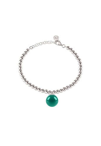 Morellato blue Boule Bracelet SALY20 Steel Stone 27DB7AC1B39329GS_1