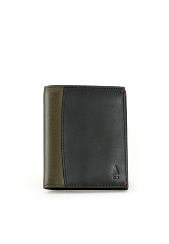Gnome and Bow black and green Felton Card Wallet 35042ACB79B45DGS_1