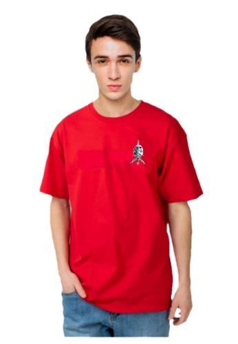 Powell Peralta red Powell Peralta Skull & Sword T-shirt- Red B9DE3AAF5D5392GS_1
