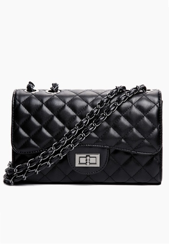 Trendyshop black Elegant Three Way Shoulder Bag BE64FAC65AFA09GS_1
