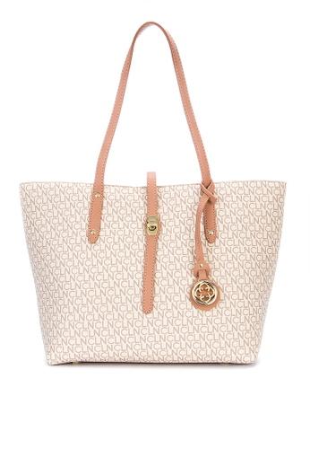 CLN white Bless Tote Bag DAA2FACD0C2B62GS_1
