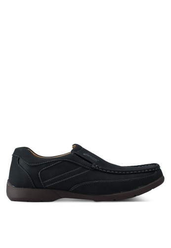 Louis Cuppers black Casual Loafers D94E0SH895480DGS_1