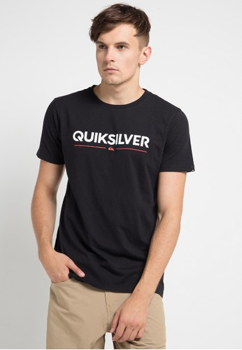 Quiksilver black and multi As Wordmark T-Shirt F8ACEAA918E0DEGS_1