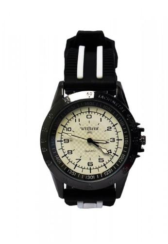 Stylebox white WEIJIEER 1057 Round Dial Silicone Band Analog Watch 13B61AC69BFB6CGS_1
