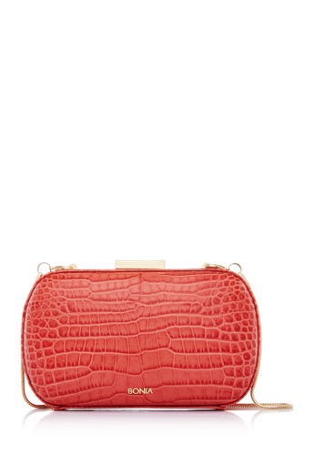 BONIA red Red Exotic on Starsome Clutch BO777AC57FYWMY_1