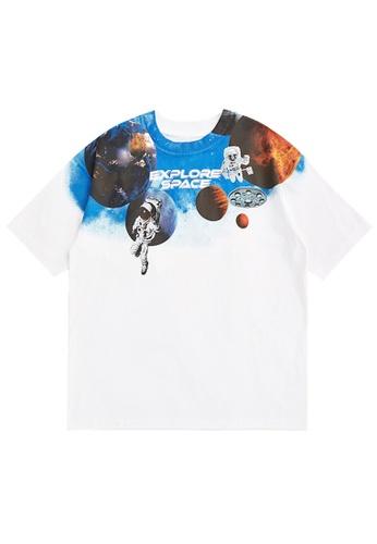 Twenty Eight Shoes Trend Printed Short T-shirt 5351S21 18981AA11162A3GS_1