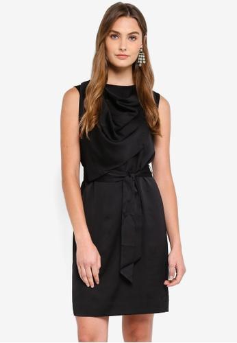 J.Crew black Athens Draped Dress 082B8AAB546495GS_1