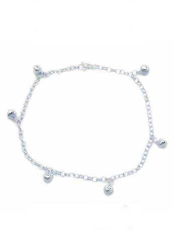 Elfi silver Elfi Genuine Solid 925 Silver Tinkerbell Anklet EL186AC74STDMY_1
