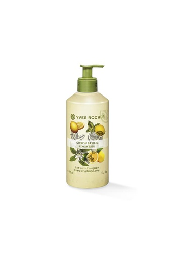 Yves Rocher Energizing Lemon Basil Body Lotion 390ml YV460BE88FHNSG_1