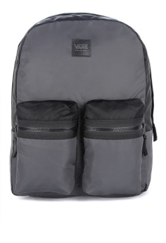 c86bbeb7517 VANS black Double Down Backpack 9B02FAC2DDD790GS 1