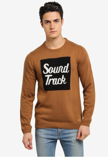 ESPRIT brown Long Sleeve Jumper ES374AA0SPIUMY_1
