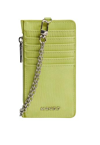 Mango green Chain Cardholder 0832AAC9FF68ECGS_1