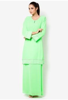 Natrah Afza Baju Kurung