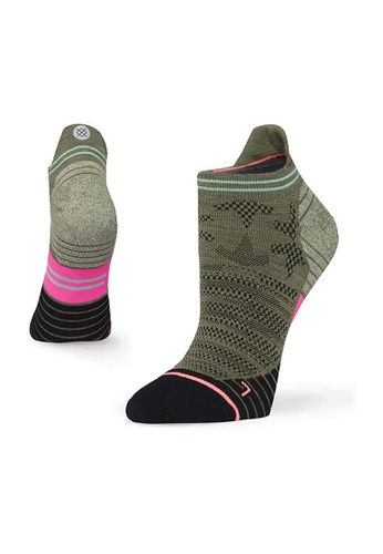 STANCE multi Stance Elipse Tab Small - Olive A3D60AA7154342GS_1