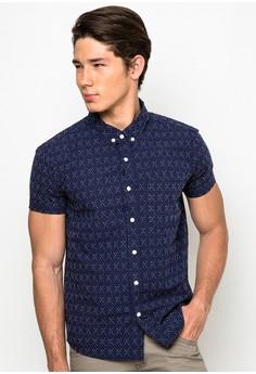 Button-down Shortsleeves Shirts