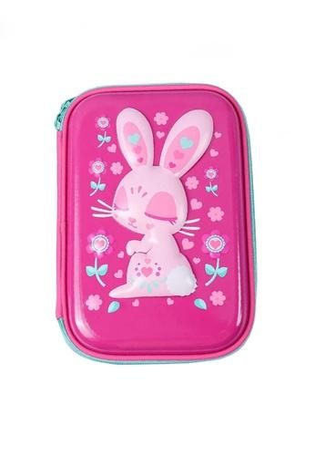 Twenty Eight Shoes pink VANSA 3D Cartoon Pencil Case  VAK-A0021 D6168KC81BE001GS_1