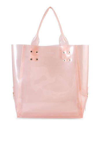 Milliot & Co. pink Jenny Tote Bag FC5FCAC92D86C2GS_1