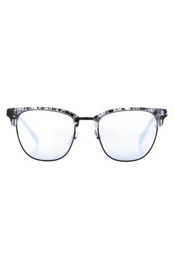 Marshall Eyewear black and silver Jack Stone MA266AC79OWASG_1