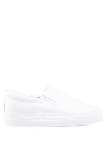 Twenty Eight Shoes 白色 Basic仿皮懶人鞋 7554DSH1E7DD8DGS_1