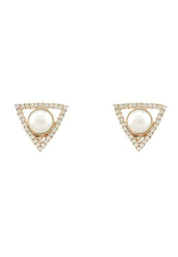1901 Jewelry gold 1901 Jewelry Celline Studs Earrings 19910AC58TYJID_1