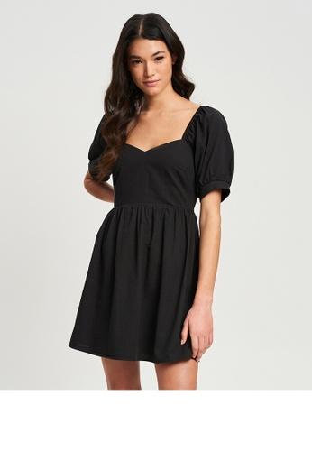 Calli black Meet Again Mini Dress CBA69AA7F1DA8AGS_1