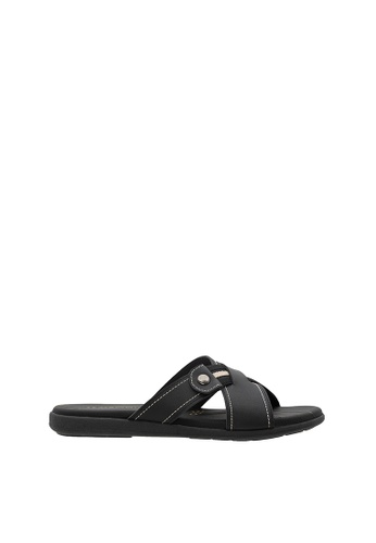 SEMBONIA black SEMBONIA Men Sandal (Black) 28B20SH0C2DA6DGS_1