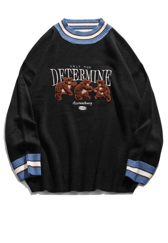 Twenty Eight Shoes Trend Embroidered Cartoon Knit Sweater HH0518 0D0AAAAD5385A5GS_1