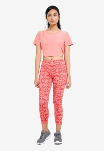 2fe90dcdfd4d00 Shop Cotton On Body Recycled Highwaisted Yoga 7/8 Tights Online on ZALORA  Philippines