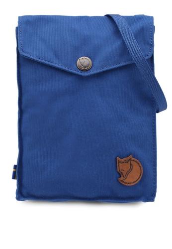 Fjallraven Kanken blue Pocket Sling Bag FJ382AC0SX8HMY_1