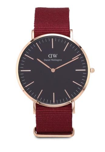 Daniel Wellington red Classic Roselyn Black Watch 40mm 61E47ACC4AB5B8GS_1