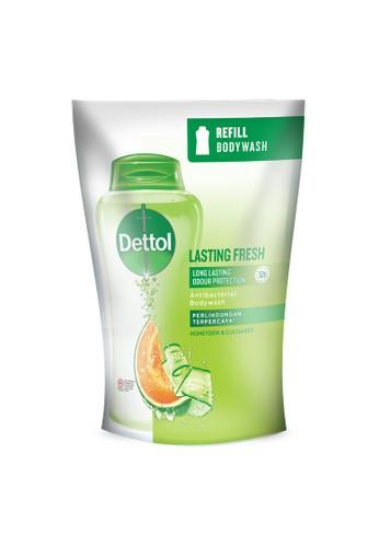 Dettol Dettol Sabun Mandi Cair Lasting Fresh 410g Refill 1C5A9ES61EB786GS_1